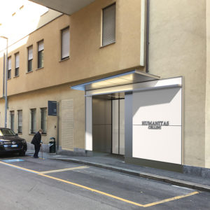 Ingresso Clinica Humanitas Cellini
